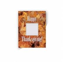 Safe/Ad Happy Thanksgiving Greeting Card - Golden
