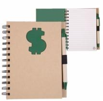 Recycle Die Cut Notebook: $