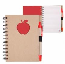 Recycle Die Cut Notebook: Apple