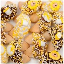 New Baby Fortune Cookies-Yellow Decor