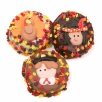 Thanksgiving Chocolate Dipped & Decorated Oreos- Individual