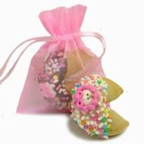 New Baby Girl Fortune Cookies- Individually Wrapped 1/Pink O