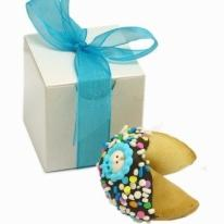 Baby Boy Fortune Cookies -Individually Wrapped & Gift Boxed