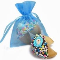 New Baby Boy Fortune Cookies- Individually Wrapped 1/Blue or