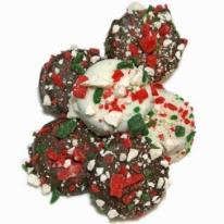 Belgian Chocolate Dipped Oreos�-Candy Cane Edition- Individu