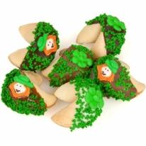 St.Patrick's Hand Dipped & Decorated Gourmet Fortune Cookies