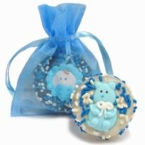 New Baby Boy Oreo� Cookies- 1/Organza Bag