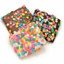 Confetti Belgian Chocolate Graham Crackers