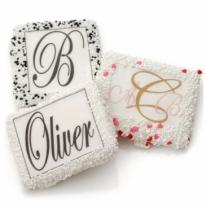 Mono-Grahams- Monogrammed Picture Cookies-1/2 Graham Cracker