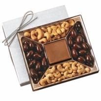 10 oz Custom Chocolate Centerpiece & Confections Gift Box