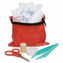 30-Piece Carabiner First Aid Kit