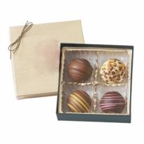 Truffle Gift Box With 4 Truffles