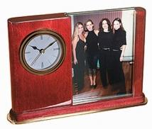PIANO WOOD® CLOCK WITH PICTURE FRAME