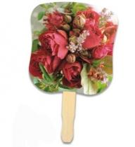 Stock Design Hand Fan - Flower Bouquet