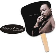 Stock Design Hand Fan - Dr. Martin Luther King, Jr.