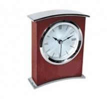 Arched Wooden Desk Clock