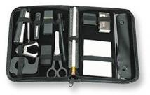 Stationery Kit/16 Desk Items in Zippered Case