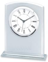 Rectangular Glass Desk Alarm Clock