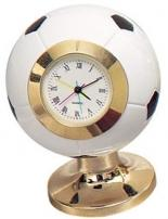 Mini Sports Clock W/Brass Stand