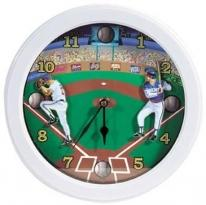 Baseball Sports Wall Clock