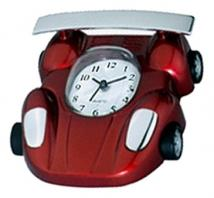Metal Race Car Alarm Clock