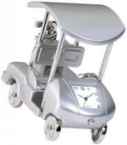 Metal Golf Cart Clock
