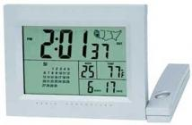 Radio Cond. Clock W/Calendar, Therm. & Usa Time Zone Display