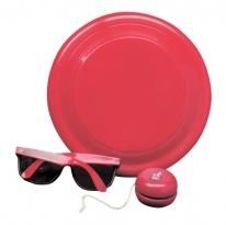 Flyer, Sunglasses, Yo-Yo Fun Kit