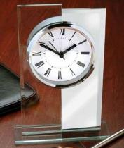 Glass & Mirror Alarm Clock