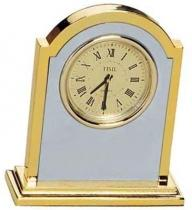 Two Tone Classic Desktop Clock