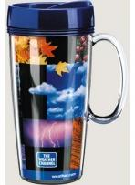 16 oz. ThermalStar Travel Mug W/Handle