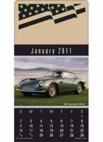 Press-N-Stick - Cruisin' Cars Calendar Pad