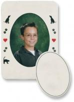 Oval Photo Magnet