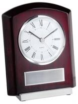 Plaque Style Clock With Base