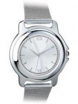 Bolton Matte Chrome & Silver Watch