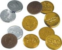 Lincoln Stock Chocolate Coins