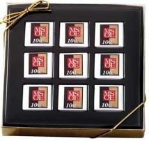 Mondrian Gift Boxed Chocolate Squares