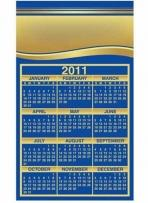 Calendar Sq Crnr - .030 Thickness
