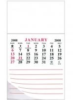 Add-A-Pad 12 Month Calendar Magnet