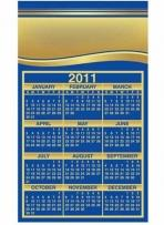 Calendar Sq Crnr - .020 Thickness