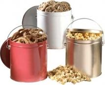 Bounty 1 Gallon Tin W/Caramel Popcorn
