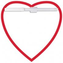 Memo Board Heart/Mag - 12P Thickness