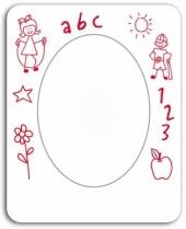 Child's Drawing - Picture Frame/Oval Punch Out
