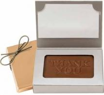 1 oz Stock Thank You Chocolate Business Card Box