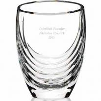 Siena Clear Crystal Vase