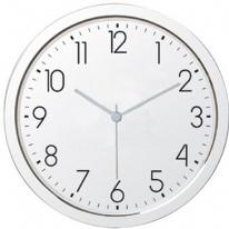 11inch Shiny Chrome Finish Wall Clock