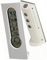 Vertical Time & Weather Station
