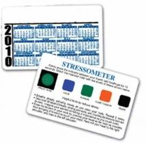 Stress-O-Meter Deluxe Card
