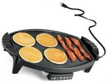 130 Sq. in. Non Stick Electric Griddle