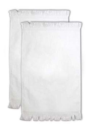 11 X 17 Fringed 2-ply Velour Towel - 1.35 Lbs/Dz
